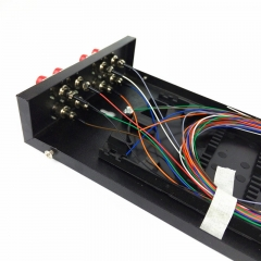 12芯SC口光纤终端盒 8口SC光纤盒