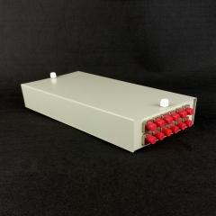 12口SC光纤盒 光纤终端盒 SC光纤接续盒 光纤熔接盒