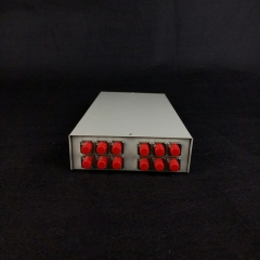 12口万能光纤连接配线盒熔纤盘SC/FC