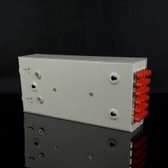 光电24口SC光纤终端盒 光纤熔接盒 19寸1U机架式24口SC光终端