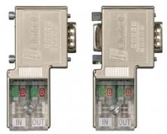 赫姆赫兹快速接线型Profibus总线连接器 700-972-0BA50