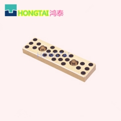 供应模具配件黄铜耐磨板,铜+石墨,自润滑板,油钢+石墨非标定做行位压条