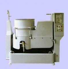 传统式涡流式光饰机--粉末冶金件去毛刺抛光