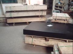 厂家直销定做济南青大理石平台 大理石平板1500*2000