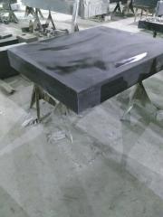 专业定做各种花岗石构件 雕刻机床身 大理石异型件
