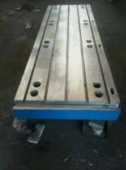 落地镗床工作台,镗床平台,镗铣床工作台、机床工作台1000*1500