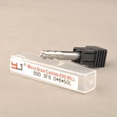 4刃钨钢铣刀-500 3F 6.0X6X50L 钨钢铣刀生产厂家  数控刀具