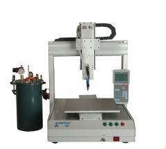 深圳奥松厂家销售,全自动点胶机,大容量三轴自动点胶机AS-331B