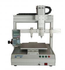 深圳厂家全自动点胶机,多头自动点胶机AS-331D-3,不拉丝,不漏胶