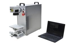 DYBGQ-20 便携式光纤打标机 打标机厂家 激光加工设备