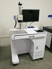 柜式光纤激光打标机 激光打标机价格 打标机厂家