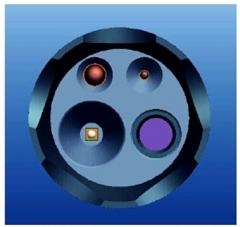 无线GPS防爆摄像手电筒GAD216D公安检查记录手电