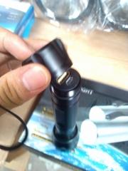 多功能摄像手电筒GAD216摄像照明一体防水充电巡检电筒