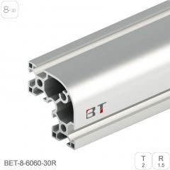 铝合金管6060铝型材铝合金方管角铝角接型材工业流水线机箱机柜铝