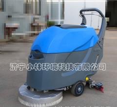山东酒店医院用手推XLS-508洗地机      洗地机图片 视频