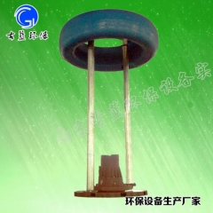 FQB浮筒潜水曝气机 1.5KW 漂浮移动式曝气机 河道曝气 水库曝气