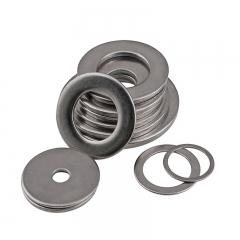 促销正宗304不锈钢平垫 不锈钢平垫圈 华丝平垫片GB97M1.6-M27