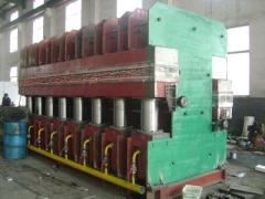 1000T全自动鄂式胎面硫化机_鄂式平板硫化机_鄂式硫化机厂家