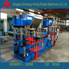 300T双联平板硫化机_全自动双联硫化机_进口零件配置双联硫化机厂家