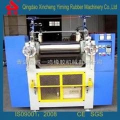 6寸水冷却实验室开炼机_电加热实验室开炼机_双辊水电通用实验室开炼机