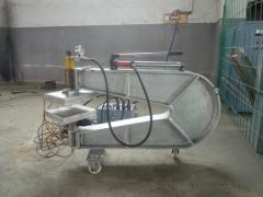 点式输送带修补机_液压点式输送带修补机_小面积胶带修补机
