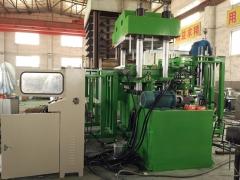 500T高精密平板硫化机_全自动柱式大型平板硫化机