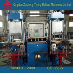 厂家直销100T进口配置双联全自动抽真空硫化机_车间现货100T橡胶抽真空硫化机