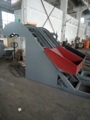厂家直销密炼机配套斗式提升机_厂家订制胶料斗式提升机