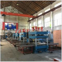厂家直销100T新型橡胶地砖硫化机_100T防滑儿童地砖硫化机