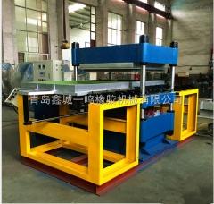 厂家直销120T橡胶地砖专用柱式硫化机_自动化橡胶地砖硫化机