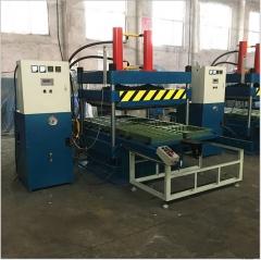厂家直销50T上压式柱式橡胶地砖硫化机_上压式地砖硫化机