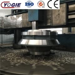 高精度重型机械加工外协 5米数控立车加工磨机配件磨辊体